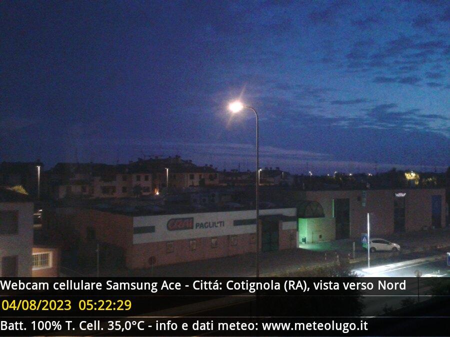 webcam cotignola
